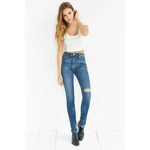 BDG UO NWT Skinny Jeans High Rise Twig Distressed